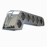 Дневные ходовые огни Prime-X DRL-017 с линзами, с функцией поворотов и притухания