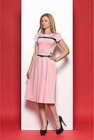 Элегантное платье в весенней расцветке