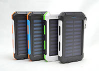 Power Bank EK-6 16800 mAh солнечный, внешний аккумулятор, батарея, Повер банк, Портативный аккумулятор