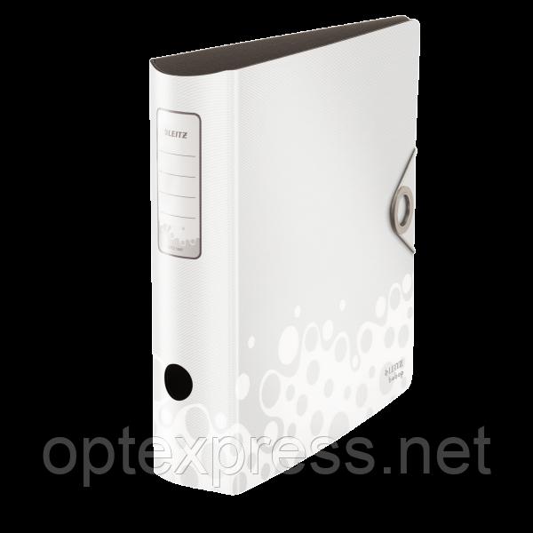 Папки-регистраторы А4 Leitz 180° ACTIVE BEBOP, 75 мм, белый ESSELTE