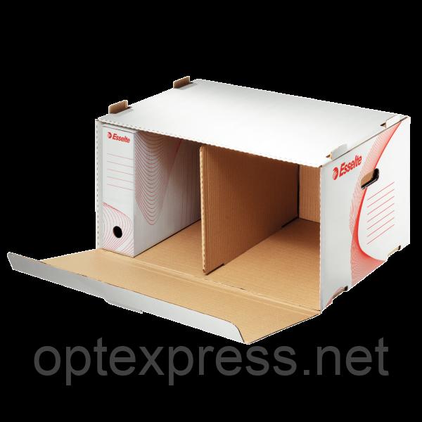 Архивный контейнер, открываемый спереди, белый ESSELTE