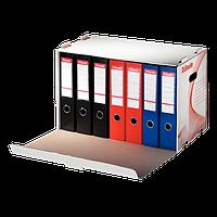 Архивный контейнер для регистраторов, открываемый спереди,белыйй ESSELTE