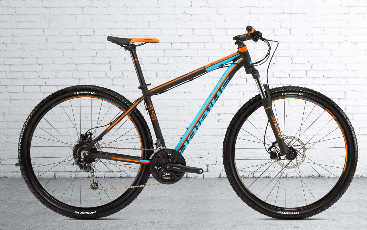 "Велосипед Haibike Big Curve 9.40 29"", рама 55см, оранжевый 2016"