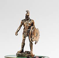Статуэтка (фигурка) Воин Ахиллес с медным покрытием