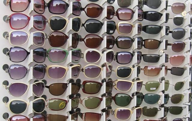 Стойки для презентации солнце защитных очков