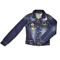 Пиджак джинсовый для девочки A-YUGI