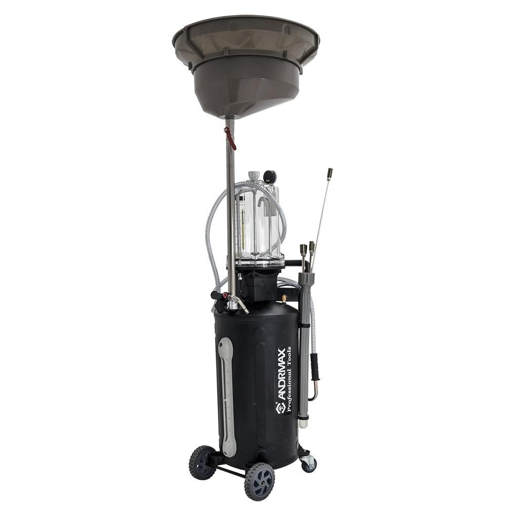 Установка для зливу і відбору масел, 70 л ANDRMAX