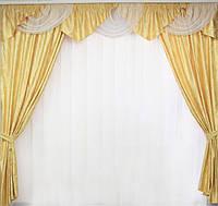 Купить ламбрекен и шторы, фото 1