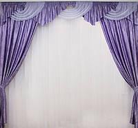 Красивые шторы с ламбрекен , фото 1