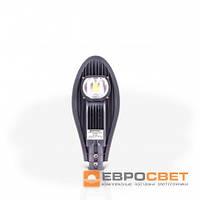 Светильник LED уличный консольный ST-30-04 30Вт 6400К 2700Лм серый с линзы