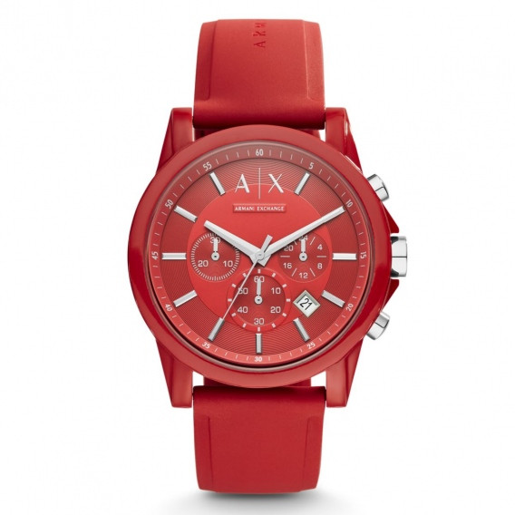 Часы мужские Armani Exchange Red Chronograph AX1328