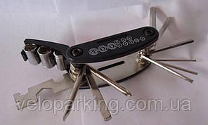 Ключі набір для велосипеда шестигранники