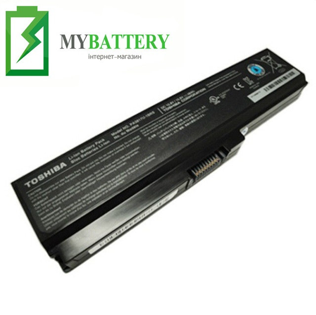 Аккумуляторная батарея Toshiba M330 L310 U405 PA3634U-1BAS/1BRS PABAS116 PABAS117 PABAS118 PA3635U-1BAM