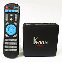 Смарт ТВ приставка (TV Box) KM8 Pro на Amlogic S912 (2GB+8GB)