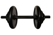 Гантель тренировочная разборная 17 кг.