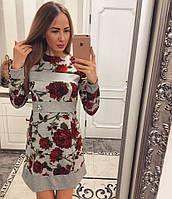 """Красивое платье """"Цветы"""" с украшением VV-08.062"""