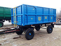 Прицеп тракторный самосвал, зерновоз 2ПТС-6