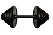 Гантель тренировочная разборная 20 кг.