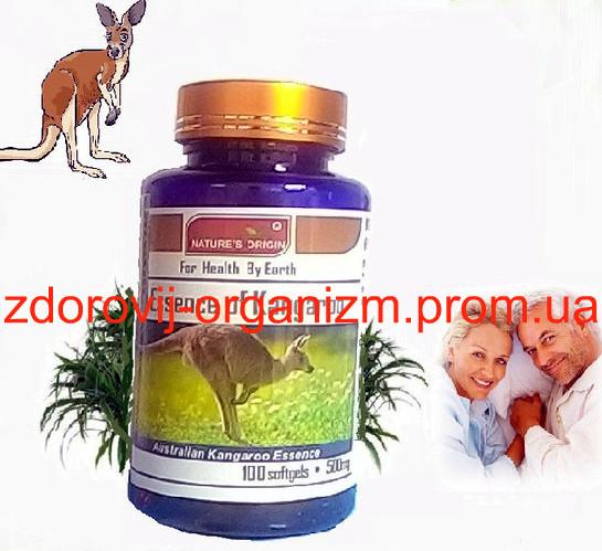 Капсулы из яичек семени австралийского кенгуру 100 капс