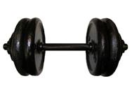Гантель тренировочная разборная 25 кг.