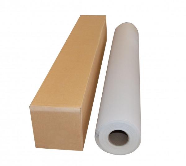 Холст хлопковый с глянцевым покрытием для печати сольвентными и экосольвентными чернилами 1070 мм х 30 м