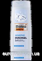 Мужской гель для душа 3 в 1 для чувствительной кожи Balea Men Duschgel Sensitive 300 мл