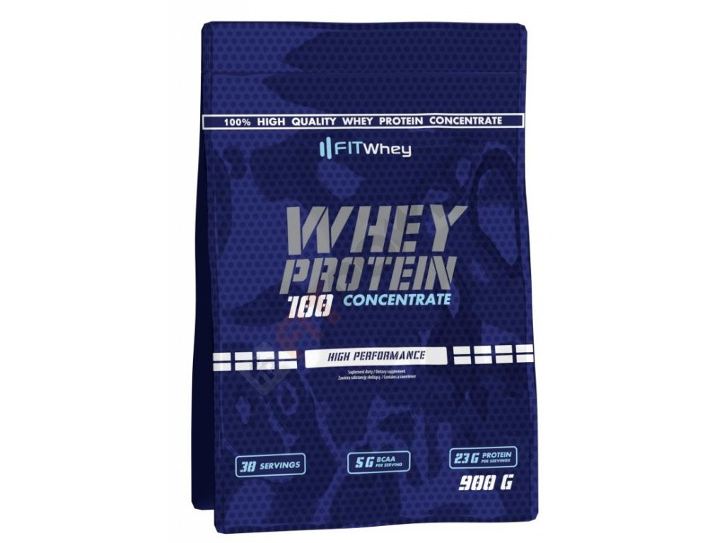Fit Whey Whey Protein 100 Concentrate 900 g