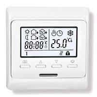 Терморегулятор для теплого пола Heat Plus M6.716 silver