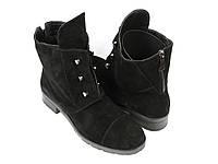 Стильные замшевые ботинки, фото 1