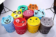 Корзина для игрушек Зоопарк 40х50 см