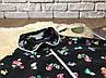 Оригинальная блуза модного фасона с абстрактным принтом  BL210012, фото 2