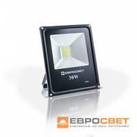 Прожектор EVRO LIGHT EV-30-01 30W 180-260V  6400K 2100Lm c датчиком