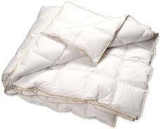 Одеяло пуховое в жаккарде односпальное TWIN PLATIN 155*215