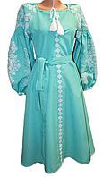 """Жіноче вишите плаття """"Нозі"""" (Женское вышитое платье """"Нози"""") PR-0038"""