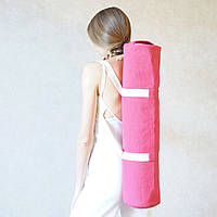 «Eco Pink Foyo» чехол для коврика для йоги