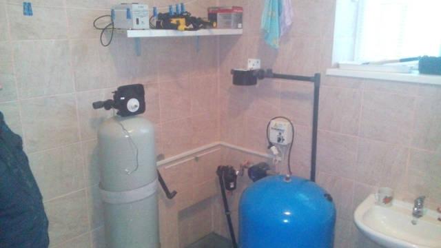 Реконструкция системы водоочистки в коттедже с 3 санузлами. Чабаны 30