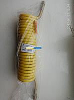 Шланг витой полиуретан М22x1,5 (желт) 7 м. DAF, MAN, SCHMITZ