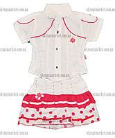 """Летний костюм для девочек от 1 до 3 лет  """"Bembi"""" LM-775"""
