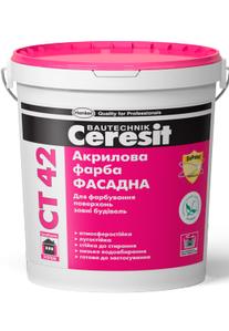 Акрилова фарба Ceresit СТ 42 10л