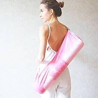 «Touch Foyo» велюровый чехол для йога коврика