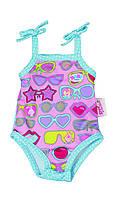 Одежда для кукол Беби Борн купальник с очками Baby Born Zapf Creation 821350