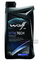 Синтетическое масло WOLF VITALTECH 5W40  ✔ емкость 1л.