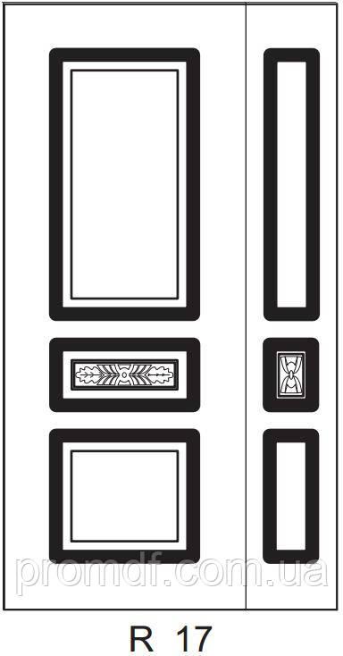 Накладки для наружных работ из МДФ 16 мм - «Полтавский MDF» в Полтаве