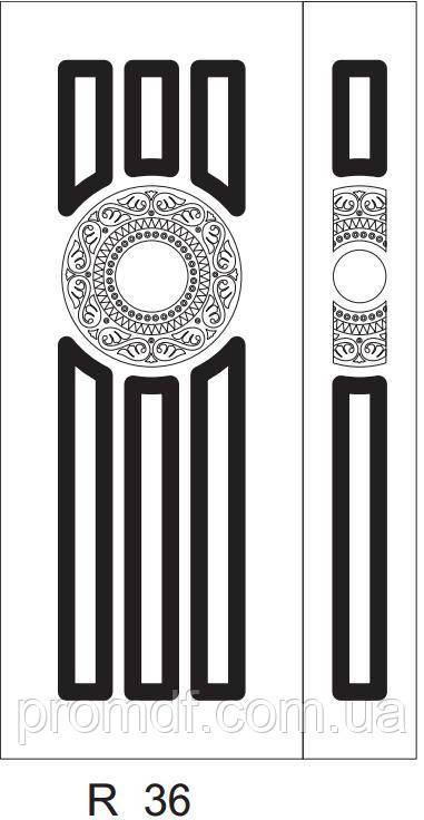 Накладки для наружных работ из МДФ 16 мм