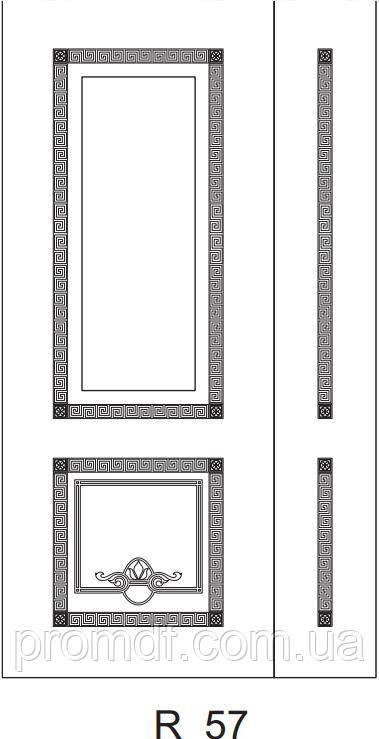 Накладки для зовнішніх робіт з МДФ 16 мм