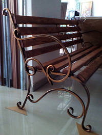 Кованая мебель для улицы, мангалы.