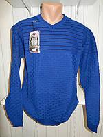 Свитер мужской COLORBAR, полу-батал, узор на фото 002/ купить свитер мужской оптом