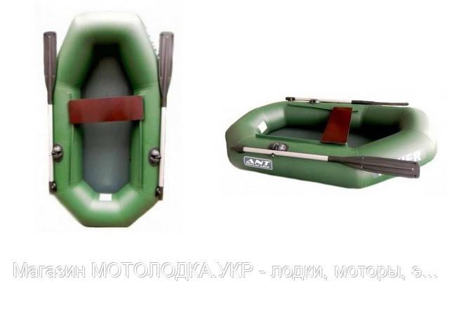 "Лодка надувная гребная ""Fisher 190"" баллон 28 см"