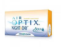 Контактные линзы непрерывного ношения Air Optix Night & Day AQUA 1 месяц