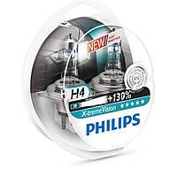 Автомобильная галогенная лампа Philips X-trime Vision H4 12V 60/55 W (производство Philips, Германия)